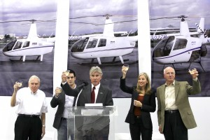 Robinson Officials Toast 10000th Ship