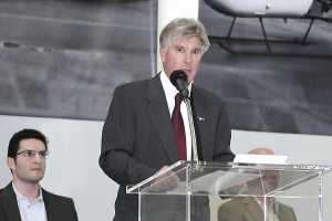 Kurt Robinson Speaks at 10000th Ship Ceremony