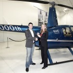 Robinson's Terry Hand Gives Rafael Audi Keys to 10000th Ship