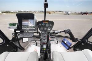 R66 Police Helicopter Cockpit