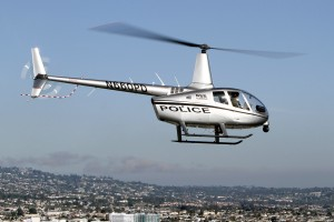 R66 Police Helicopter Right Side