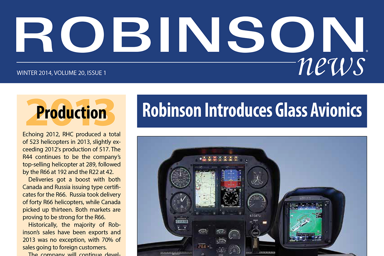 Robinson News Winter 2014