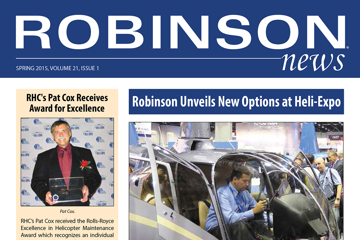 Robinson News Spring 2015