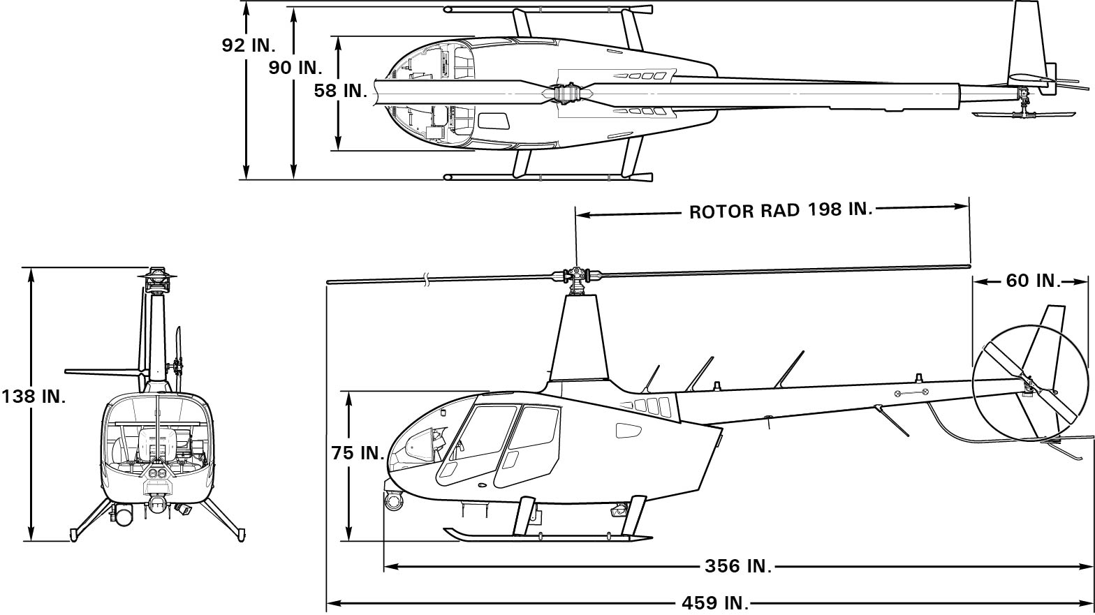 r66 helicopter specifications robinson helicopter company