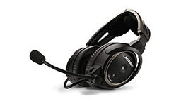 black bose a20 pilot headset