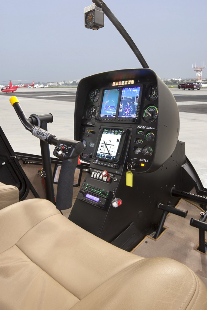 Garmin G500H Side View