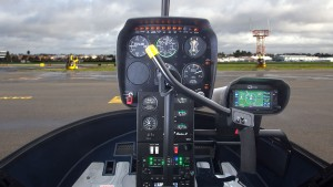 r22 removable flight controls