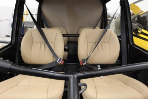 r44 leather seats