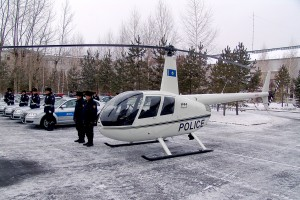 R44 Raven II Police Helicopter Kazakhstan Photo 4