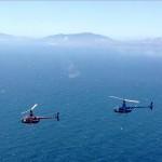 R66 Over the Mediterrean Sea