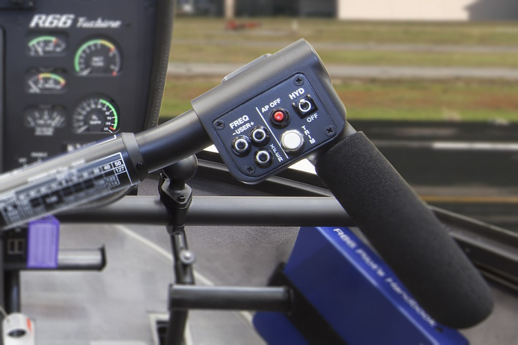 r66 cyclic grip controls with autopilot
