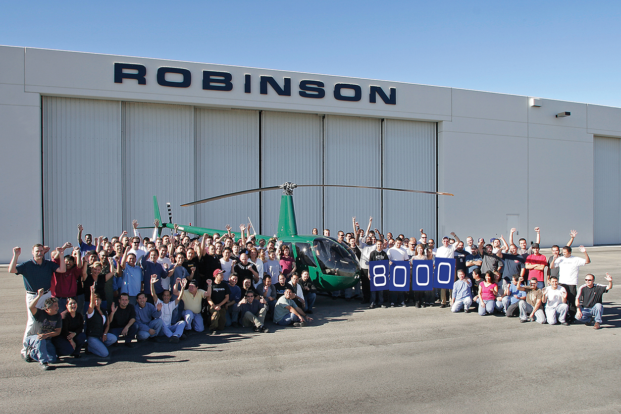 Robinson 8000th Helicopter