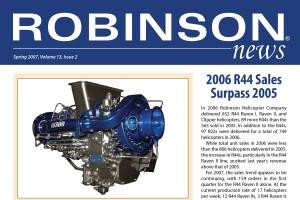 Robinson News Spring 2007