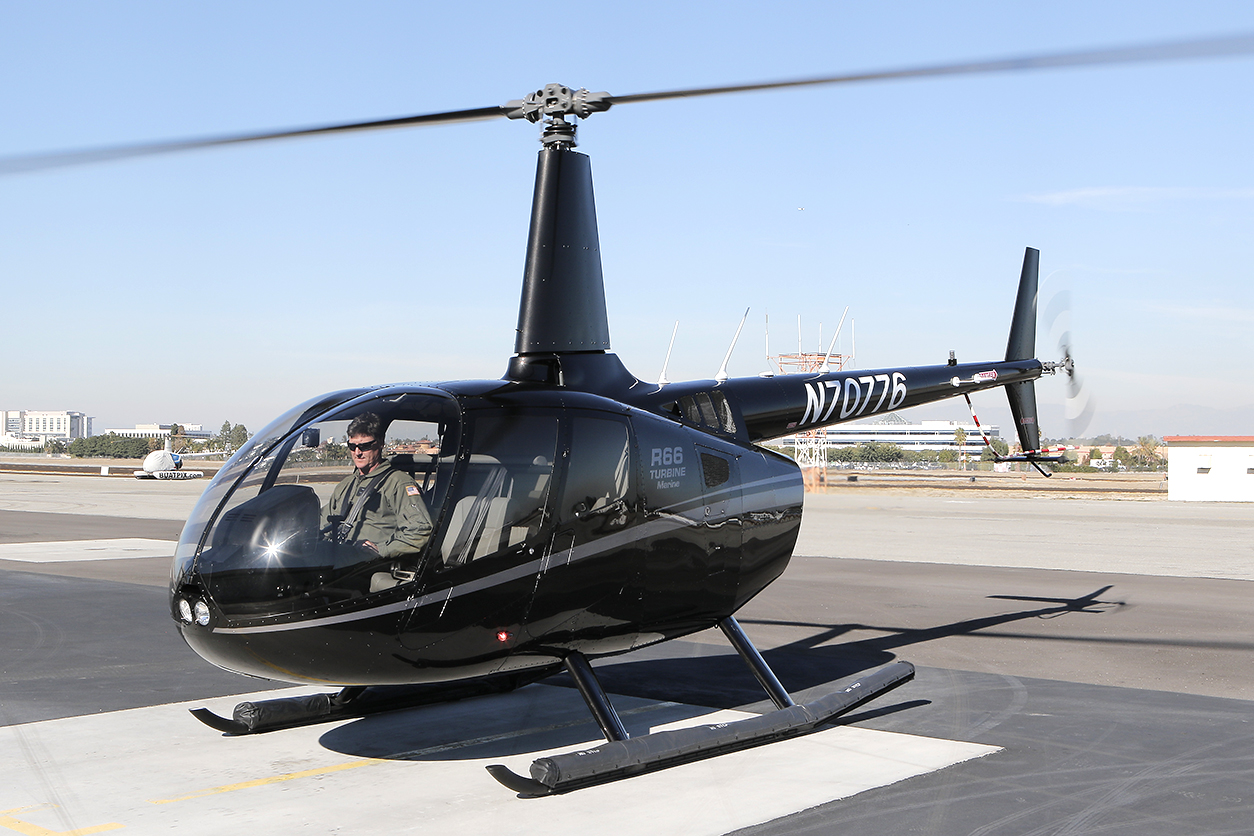 robinson to deliver 700th r66 helicopter