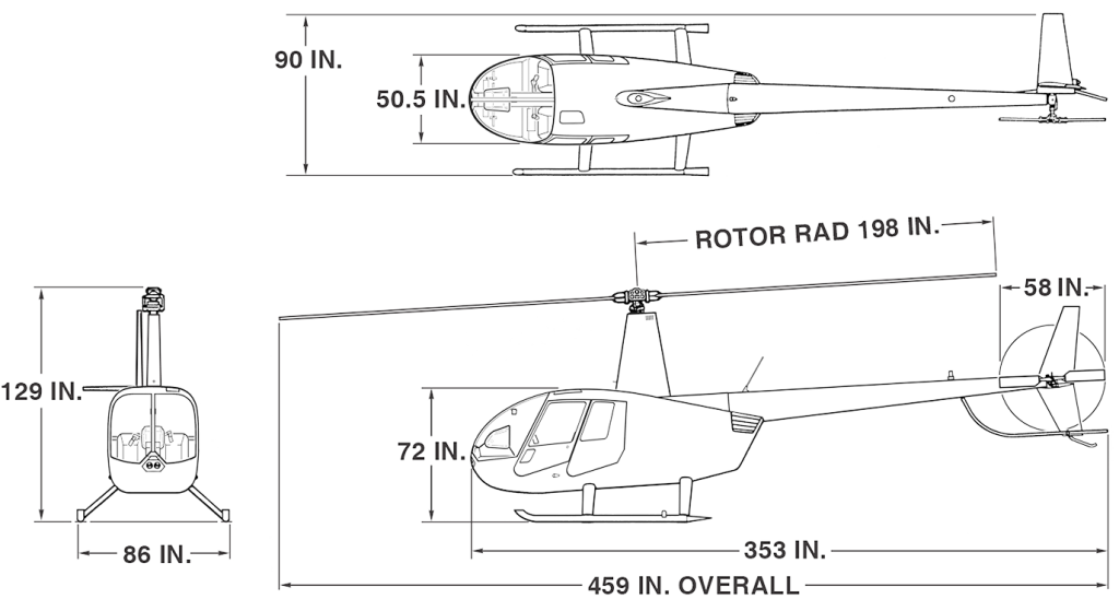r44 cadet robinson helicopter company
