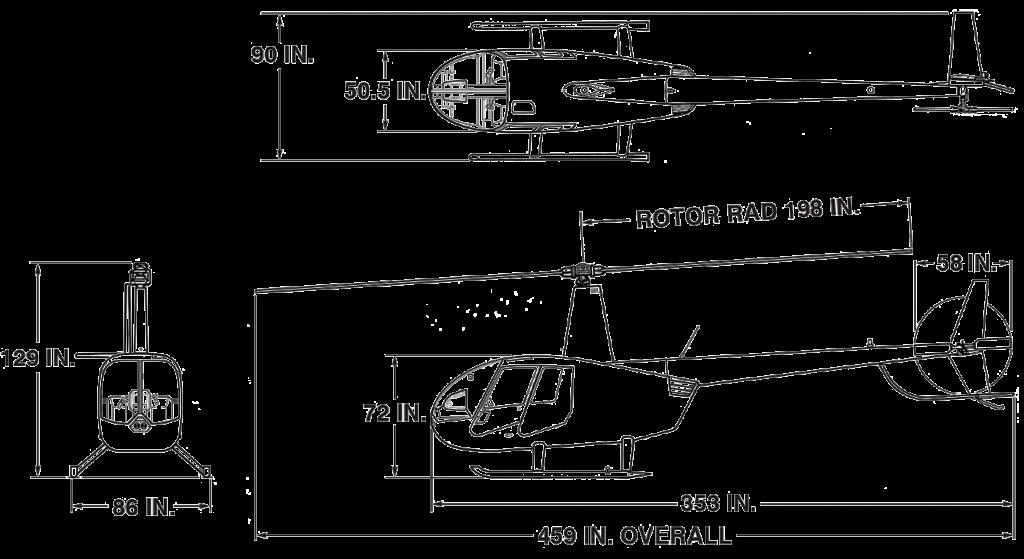 r44 cadet dimensions