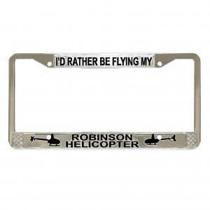 robinson license plate frame