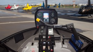 r44 raven I removable flight controls