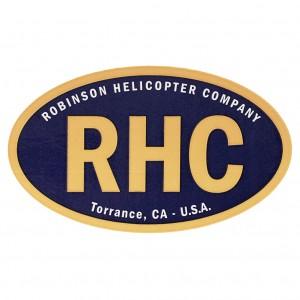 robinson blue sticker