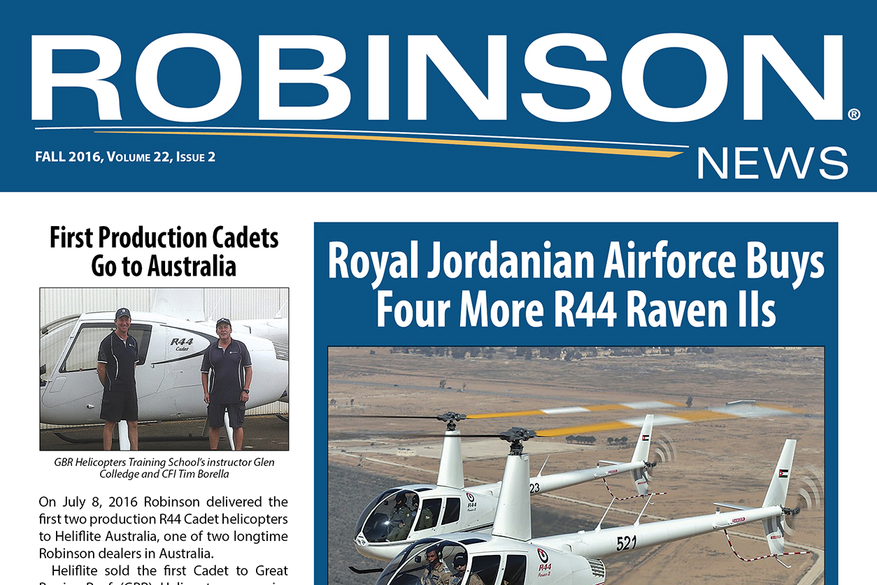 Robinson News Fall 2016