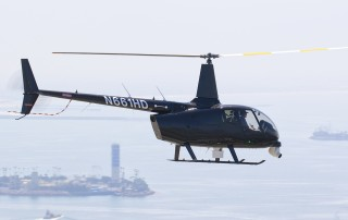 Robinson R66 Turbine Newscopter side view