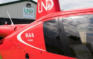 university of north dakota r44 cadet