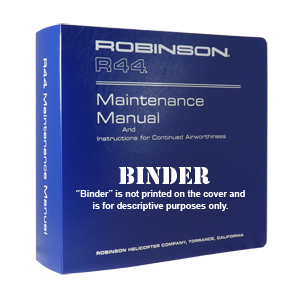 r44 maintenance manual binder