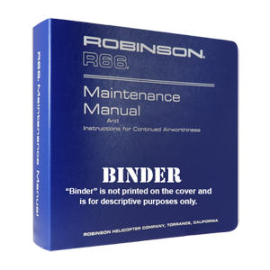 r66 maintenance manual binder