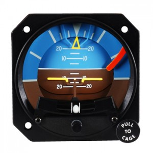 artificial horizon, mid-continent 4300 with slip skid