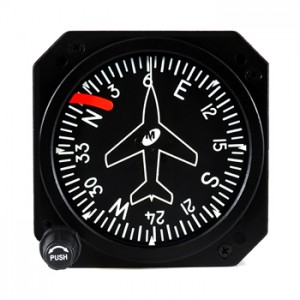 Directional Gyro Mid-Continent 3300 avionics instrument