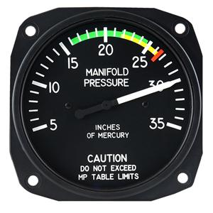 r44 raven one manifold pressure gage