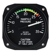 manifold pressure gage avionics instrument