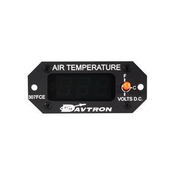 Digital OAT outside air temperature gage