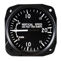 Vertical Speed Indicator avionics instrument
