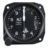 standard altimeter avionics instrument