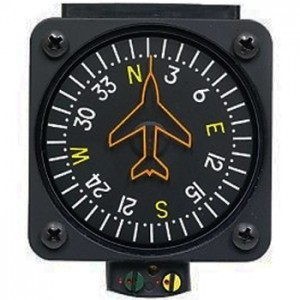 Vertical Compass precision aviation PAI-700 avionics instrument