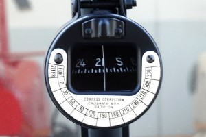 windshield mounted standard magnetic compass