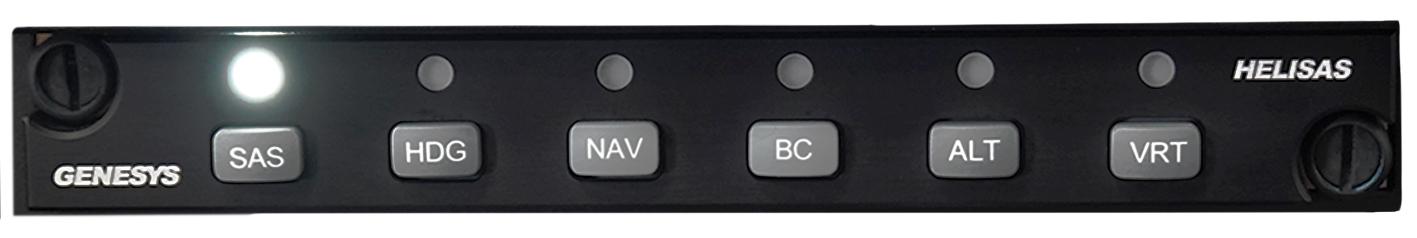 Genesys HeliSAS Autopilot panel