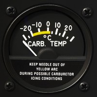 Carburetor Temperature Gage
