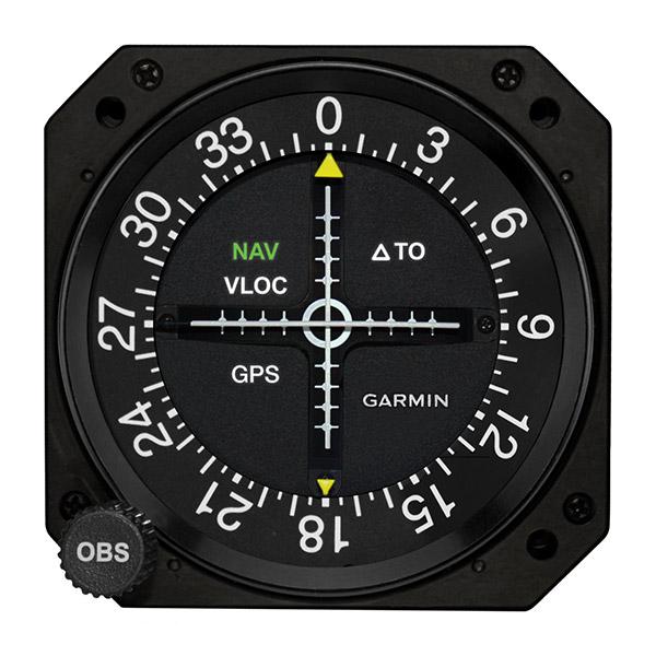 Garmin GI-106B helicopter avionics instrument