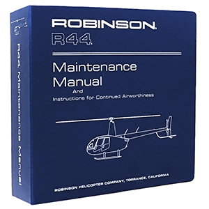 R44 Maint  Manual - Robinson Helicopter Company