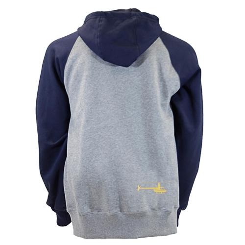 robinson 2-tone hoodie back