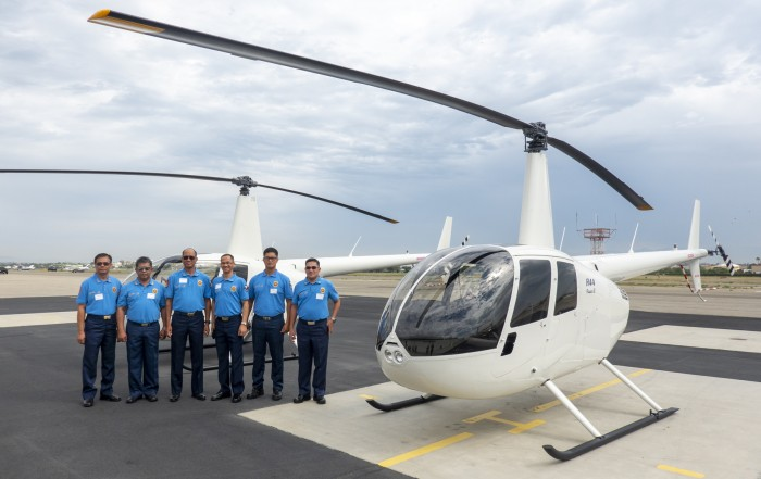 Philippine National Police (PNP) Chooses R44s for Training