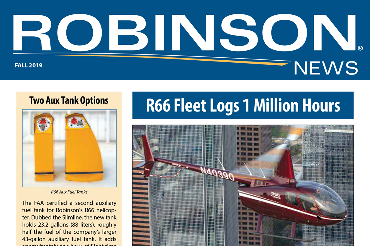 Robinson News Fall 2019